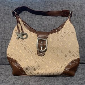 Brown & Tan XOXO Purse